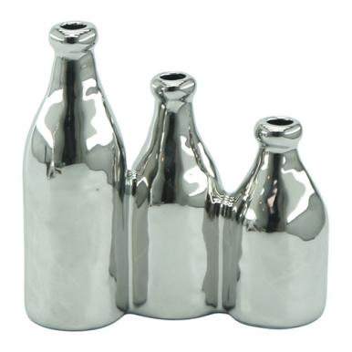 objeto-decorativo-vaso-triplo-ceramica-18x8-cm-Carro-de-Mola-G