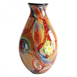 vasos decorativos de vidro colorido 4