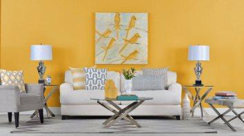 decoracao-de-sala-em-amarelo