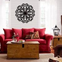 A cor vermelha na decoração de um ambiente