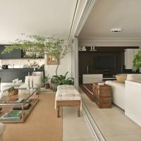 Como decorar ambientes grandes