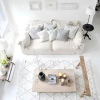 A sala de estar da sua casa